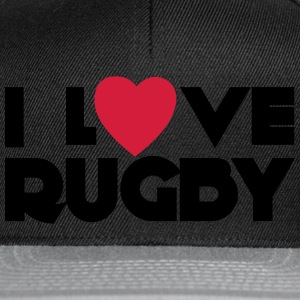 I Love Rugby Magliette - Snapback Cap