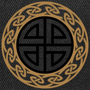 Celtic Shield Knot, Protection, Four Corner, Norse Magliette - Snapback Cap
