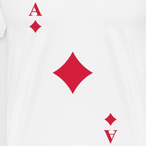 Ace of diamonds Tank Tops - Men's Premium T-Shirt