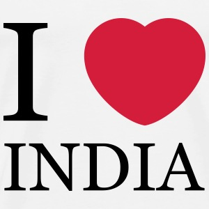 I love India Tops - Männer Premium T-Shirt