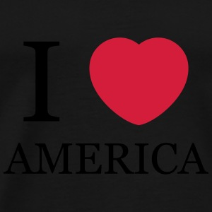 I love America Tops - Men's Premium T-Shirt