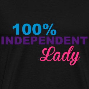 Independent Lady Toppe - Herre premium T-shirt