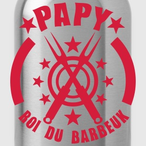 papy roi barbeuk barbecue logo Tee shirts - Gourde