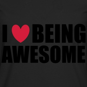 Being Awesome Top - Maglietta Premium a manica lunga da uomo