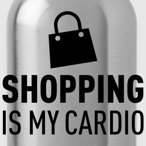 Shopping Is My Cardio Tops - Water Bottle