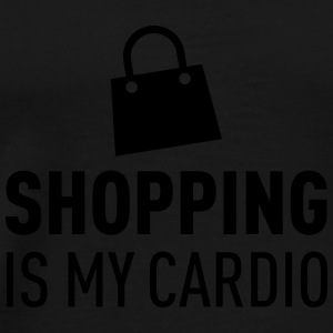 Shopping Is My Cardio Tops - Mannen Premium T-shirt