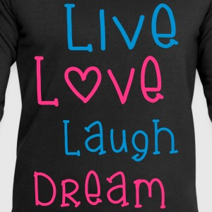 Live Love Laugh Dream Toppar - Sweatshirt herr från Stanley & Stella