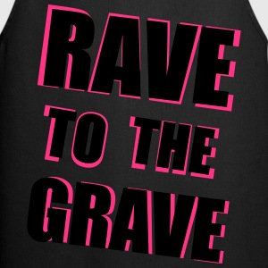 Rave To The Grave Tops - Cooking Apron