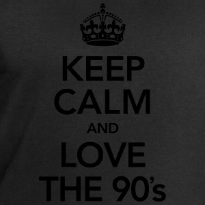 Keep Calm And Love The 90´s Singlets - Sweatshirts for menn fra Stanley & Stella