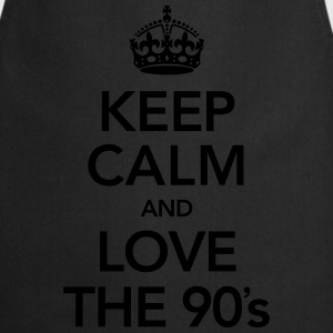 Keep Calm And Love The 90´s Singlets - Kokkeforkle