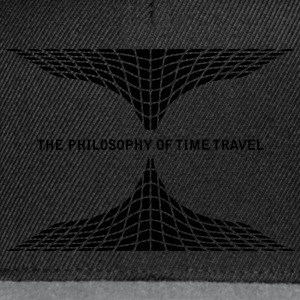 philosophy time travel Tops - Snapback cap