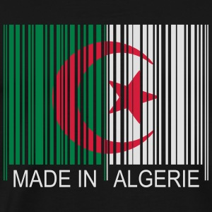 Code barre Made in ALGERIE Tee shirts - T-shirt Premium Homme