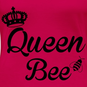 Queen Bee Topper - Premium T-skjorte for kvinner