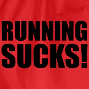 Running Sucks Top - Sacca sportiva