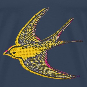 Yellow bird Tops - Men's Premium T-Shirt