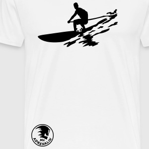 sup boarding T-Shirts - Men's Premium T-Shirt