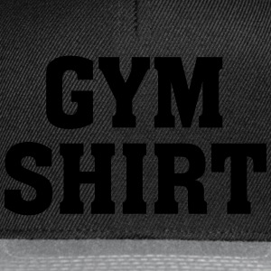 Gym Shirt Tee shirts - Casquette snapback