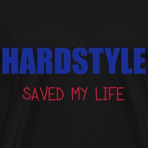 Hardstyle Saved Me Tops - Männer Premium T-Shirt