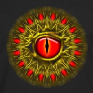 Dragon eye fantasy, symbol magical balance & power - Männer Premium Langarmshirt