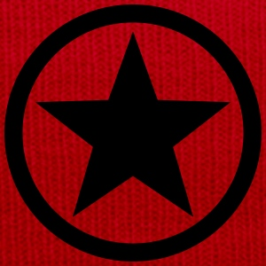 Star circle Anarchy Master Black Rebel Revolution Tops - Winter Hat