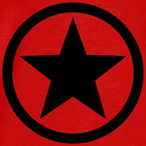 Star circle Anarchy Master Black Rebel Revolution Tops - Mannen Premium T-shirt