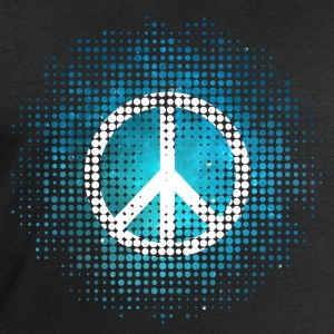 Peace Symbol Love Harmony Freedom Dots Summer Tee shirts - Sweat-shirt Homme Stanley & Stella