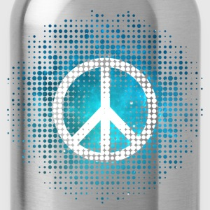 Peace Symbol Love Harmony Freedom Dots Summer T-Shirts - Water Bottle