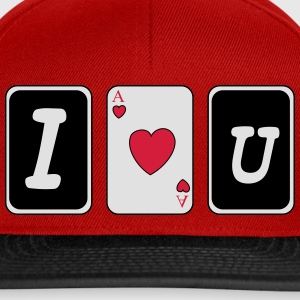 I love you Toppe - Snapback Cap