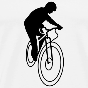 A bicycle tire  T-Shirts - Men's Premium T-Shirt