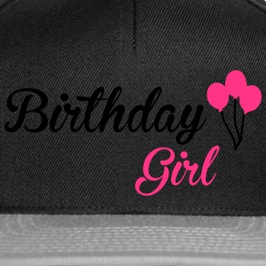 Birthday Girl Tops - Snapback Cap
