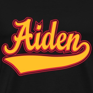 Aiden - The name as a sport swash T-Shirts - Men's Premium T-Shirt