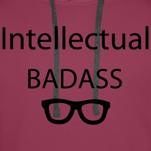 Intellectual Tops - Männer Premium Hoodie