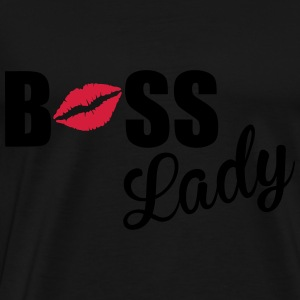 Boss Lady Tops - Mannen Premium T-shirt