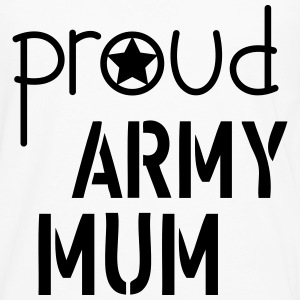 Army Mum Tops - Men's Premium Longsleeve Shirt