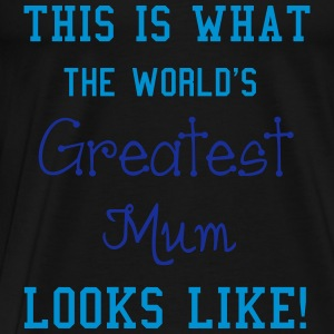 Mum Tops - Men's Premium T-Shirt