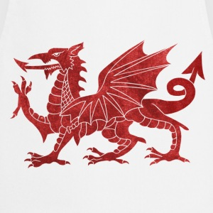 Welsh Red Dragon Tops - Cooking Apron