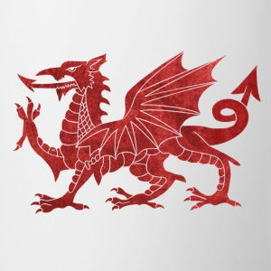 Welsh Red Dragon Tops - Mug