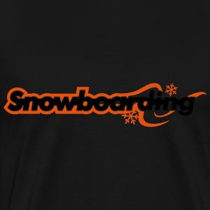Snowboarding Tops - Men's Premium T-Shirt