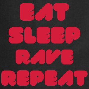 EAT SLEEP RAVE REPEAT Magliette - Grembiule da cucina