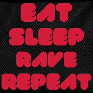 EAT SLEEP RAVE REPEAT Magliette - Zaino per bambini