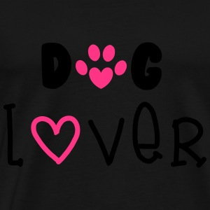 Dog Lover Topper - Premium T-skjorte for menn