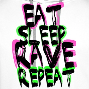 Rave Repeat Tops - Men's Premium Hoodie
