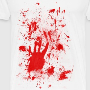 Splashes of blood / blood Smeared Tops - Men's Premium T-Shirt