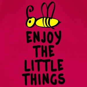 enjoy the little things 2c Topper - Premium T-skjorte for kvinner