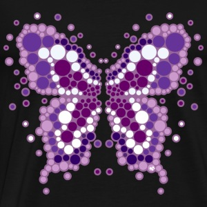 pop butterfly Topper - Premium T-skjorte for menn