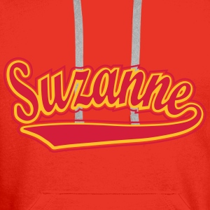 Suzanne - T-shirt personalised with your name Tops - Men's Premium Hoodie