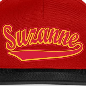 Suzanne - T-shirt personalised with your name Tops - Snapback Cap