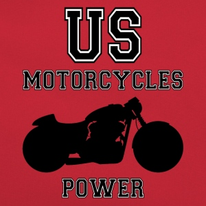 us motorcycles power Tee shirts - Sac Retro