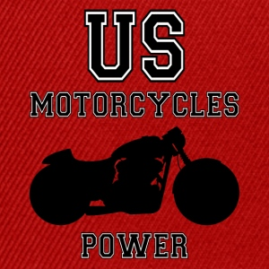 us motorcycles power Tee shirts - Casquette snapback