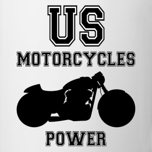 us motorcycles power Tee shirts manches longues - Tasse